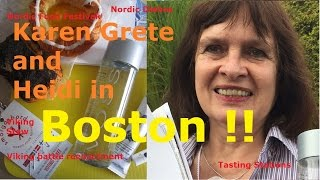 Karen Grete & Heidi In Boston | Attended The Smörgåsbord Nordic Food Festival!!