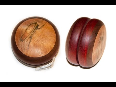How To Make A Yo-Yo With Scrap Wood / Woodturning Project