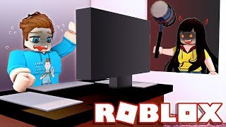 Don't Get Caught By Evil Lastic in Flee the Facility! (Roblox)