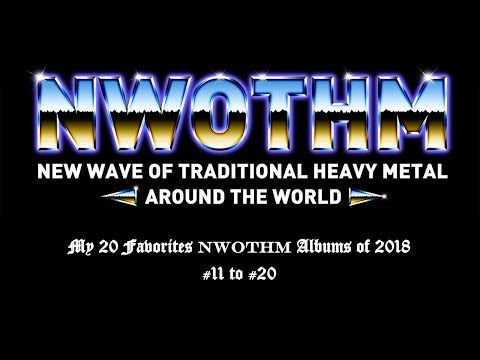 My 20 Favorites NWOTHM Albums of 2018 - #11 to #20