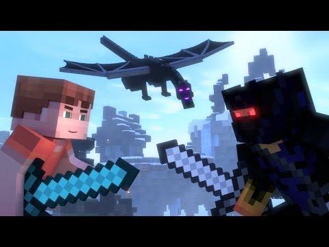 DEAF KEV - Invincible [NCS Release] - Minecraft Animation