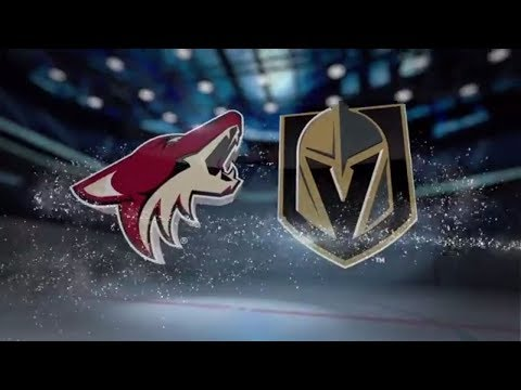 Arizona Coyotes vs Vegas Golden Knights - October 10, 2017 | Game Highlights | NHL 2017/18. Обзор.