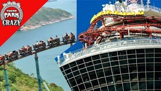 10 Roller Coasters in CRAZY Locations