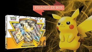 Pokemon Kaarten    PIKACHU EX BOX OPENEN # 79