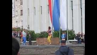 День города Архангельск 2010 год Танцы под Ace Of Base Beautiful Life