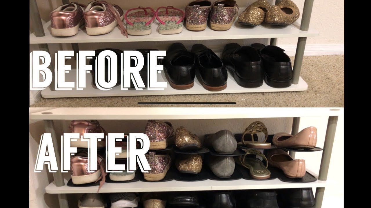 How To Organize A Small Apartment Shoes Edition Youtube