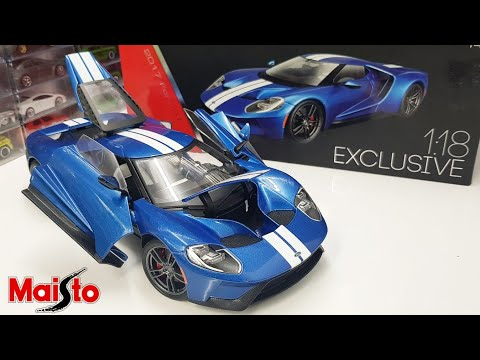 1/18 Maisto 2017 Ford GT Exclusive Edition Review