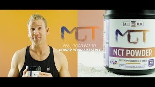 MCT Powder: The Feel Good Fat to Fuel Your Lifestyle