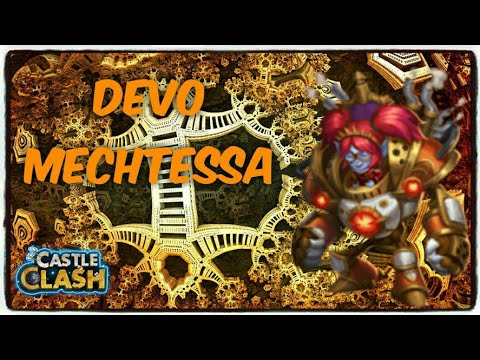 Castle Clash: Double Evolved Mechtessa Gameplay
