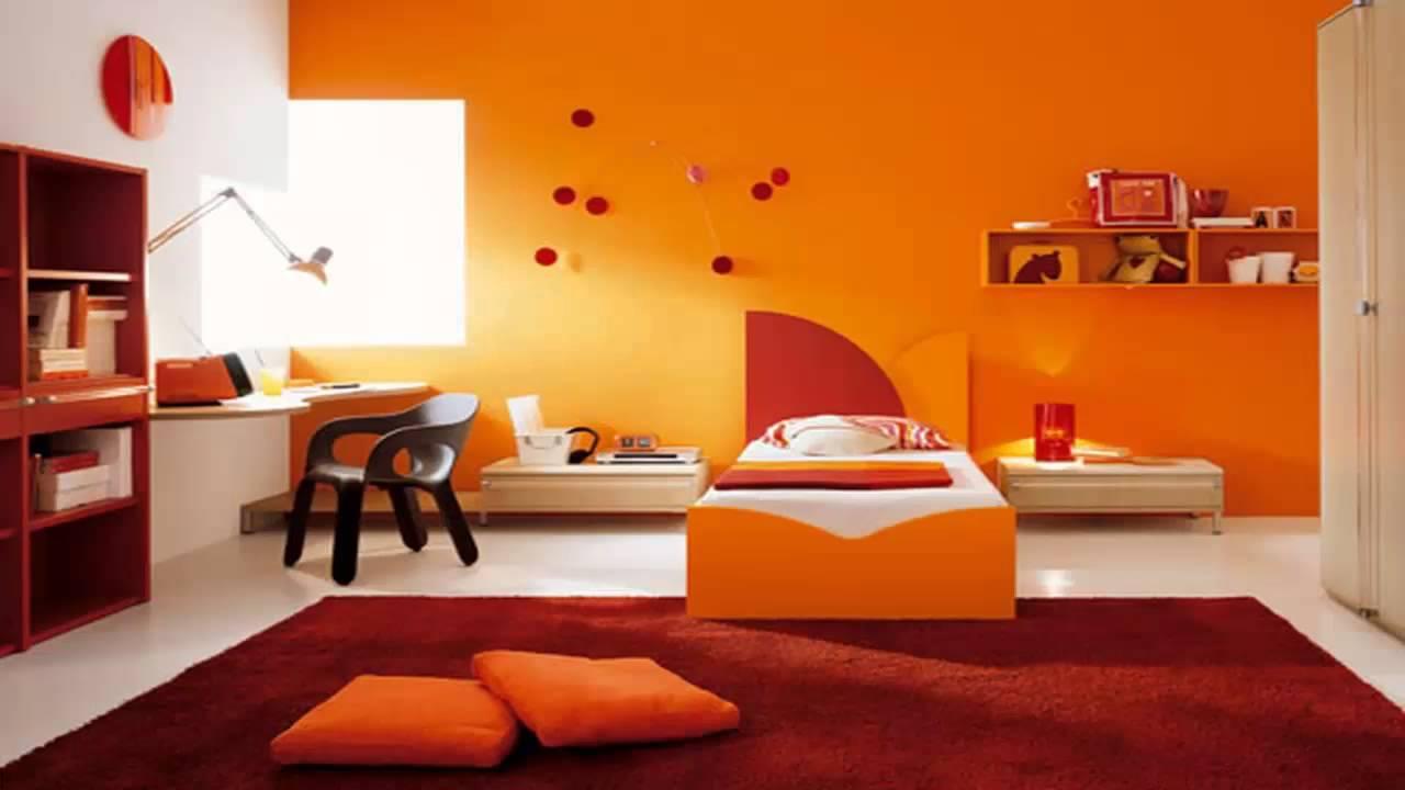 غرف نوم اطفال باللون البرتقالي       YouTube