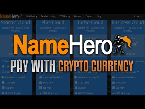 Buy Web Hosting And Domains WIth Crypto Currency (BTC, BCH, ETH, LTC)
