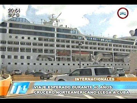 Histórico: llegó el crucero que une Cuba y EE.UU tras casi 50 años - 02/05/2016