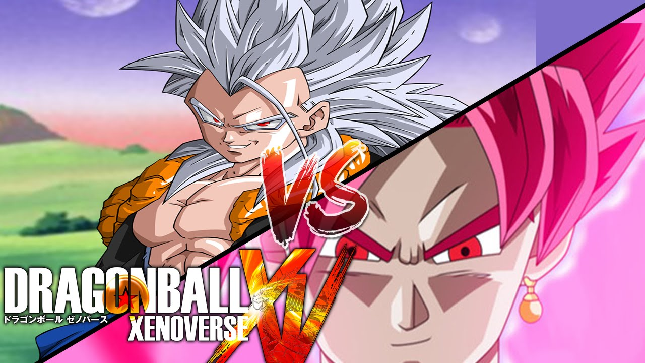 Super saiyan 5 gogeta vs super saiyan rose black goku - Goku 5 super saiyan ...