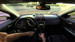 Driving the 2006 Volvo S40 T5 AWD