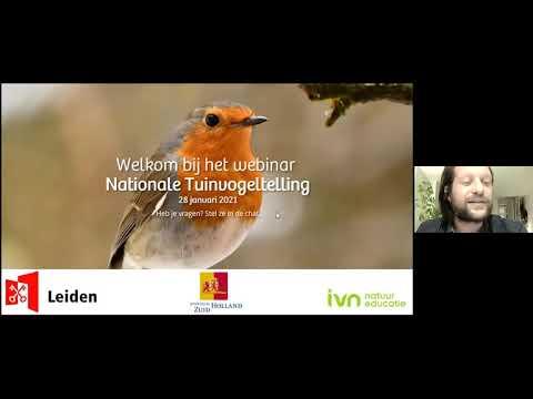 Webinar Nationale Tuinvogeltelling