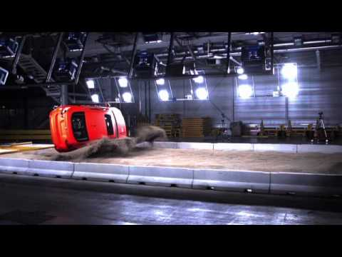 Bmw Safety Rollover Facility Crash Tests Youtube