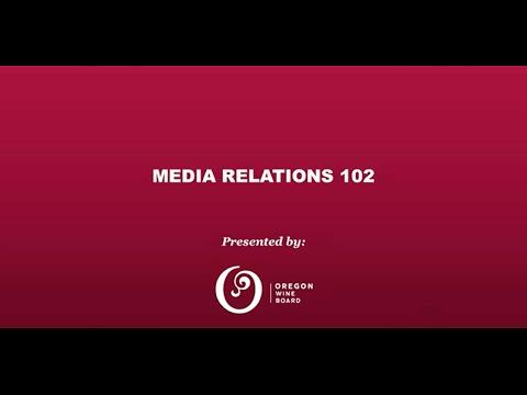 Media Relations 102