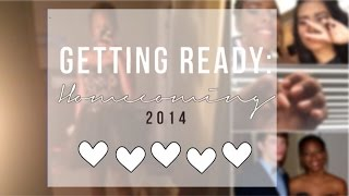 Getting Ready with Me: Homecoming 2014 ♡ Thumbnail