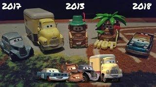 Unboxing 5 Mattel Disney Cars Diecasts! (2013, 2017, 2018)