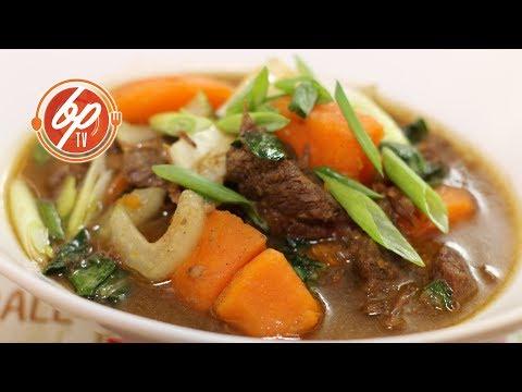 Guiso De Carne De Res Con Especias Asiáticas