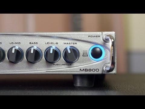 GALLIEN KRUEGER MB800 REVIEW | BassTheWorld.com