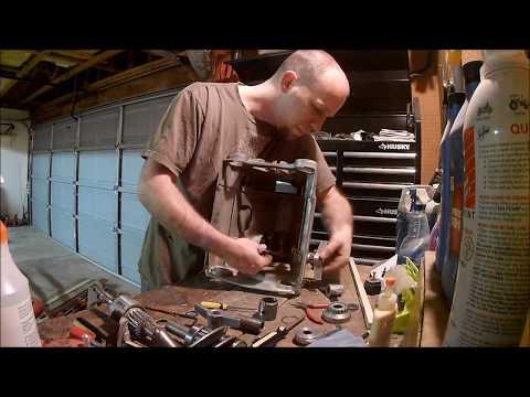 Shopsmith Headstock Rebuild Tutorial (Greenie Single Bearing Quill)