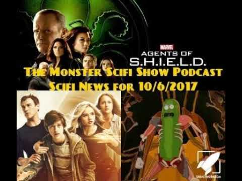 The Monster Scifi Show Podcast - Scifi News for 10/6/2017