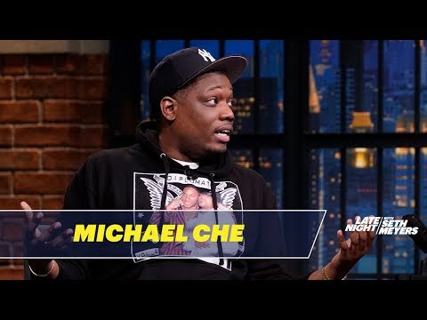 Michael Che OnceDid Stand-Upat a Drug Dealer's Birthday Party