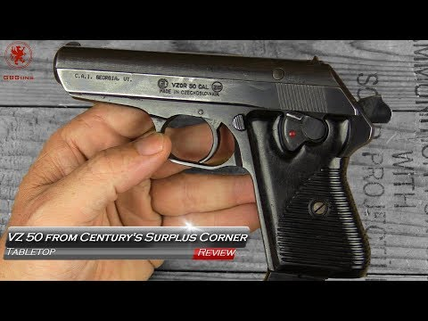 Classic CZ, VZ 50 from Century Arms Tabletop Review