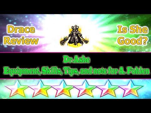 Final Fantasy Brave Exvius 6 stars Drace Review: DrAshe315