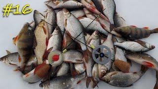 Зимняя рыбалка на безмотылку Ловля плотвы и окуня на реке Гвоздешарик vs Чертик