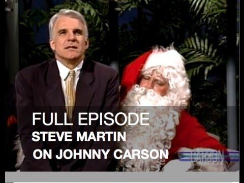 JOHNNY CARSON FULL EPISODE: Steve Martin, Letters to Santa ...