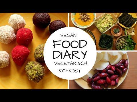 FOOD DIARY mit meinen Kindern - Vegan und vegetarisch!