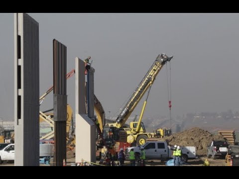 BREAKING NEWS: President Donald Trump's Border Wall Prototypes ALMOST Complete in California