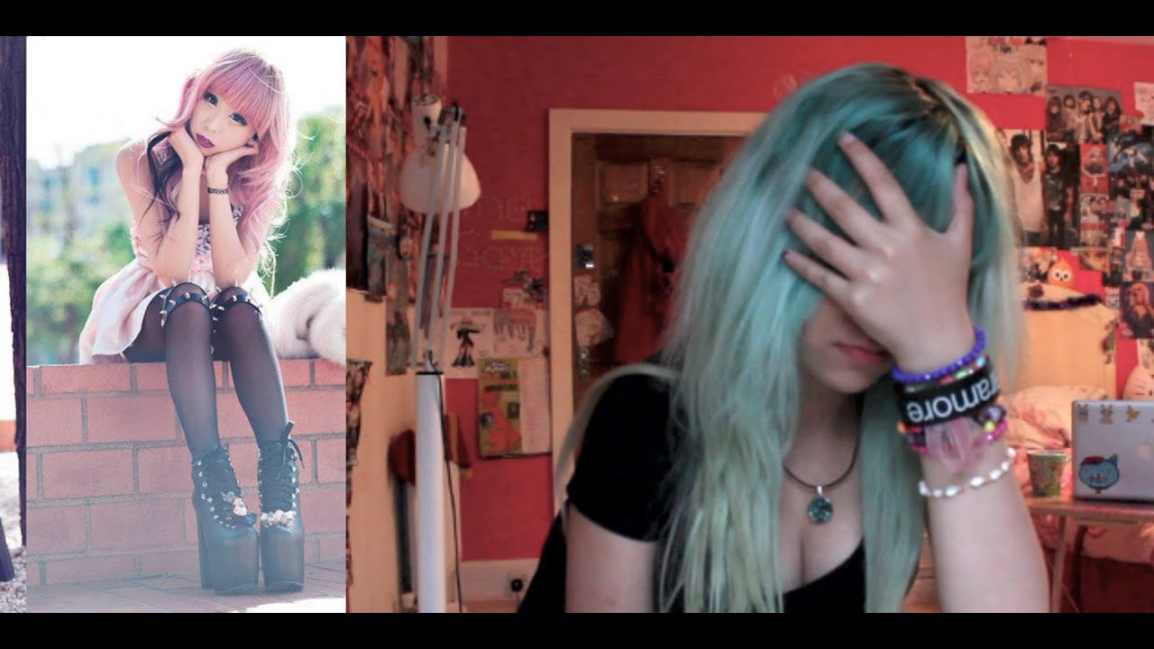 How To Be Pastel Goth Fringe Faail Youtube