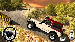 Off road Jeep Mountain Climb 3D Simulator - Android GamePlay