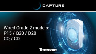How to install CAPTURE P15 / Q20 / D20 / CQ / CD (Wired Grade 2 models)