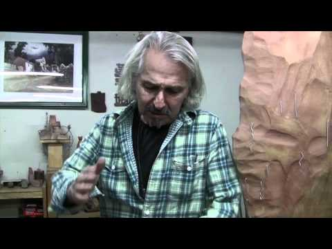 Interview with artist Pablo Seminario and tour of gallery with Spirits of the Earth
