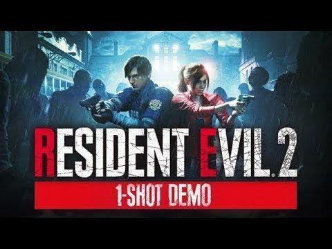 Resident Evil 2 Remake Demo : One-Shot Demo Playthrough