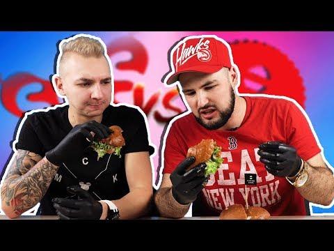 БИТВА БУРГЕРОВ - Black Star Burger VS бургер из SOS Cafe  (с Антоном Лав)