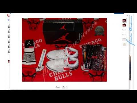 2013 Nike Air Jordan White Cement 3 Retro '88 (Buy It Now) In Stock