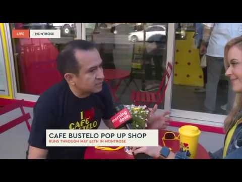 Cafe Bustelo Pop Up adds Houston Flair