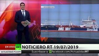NOTICIERO RT 19/07/2019
