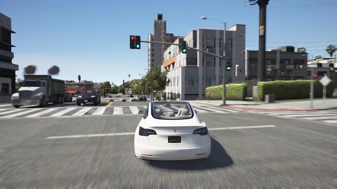 E  Bbgta  Naturalvision Remastered Tesla Model  Riding Free To Use