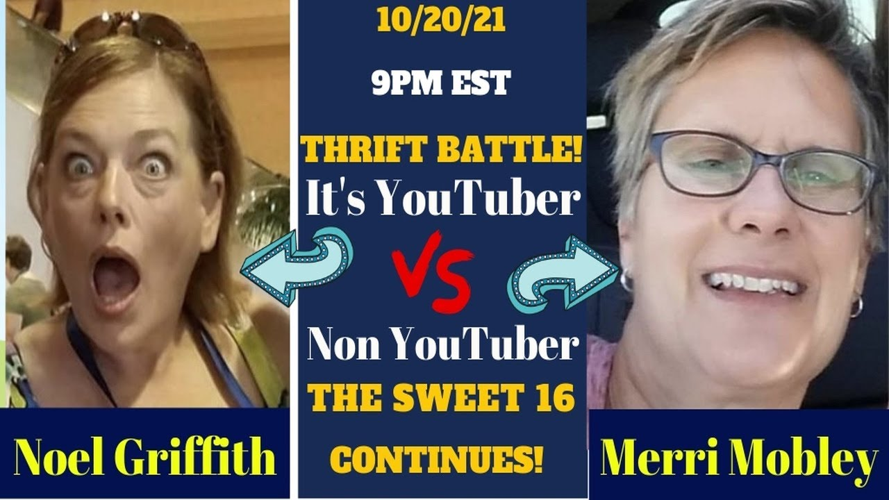 Download THRIFT BATTLE SWEET 16! YouTuber vs Non-YouTuber!