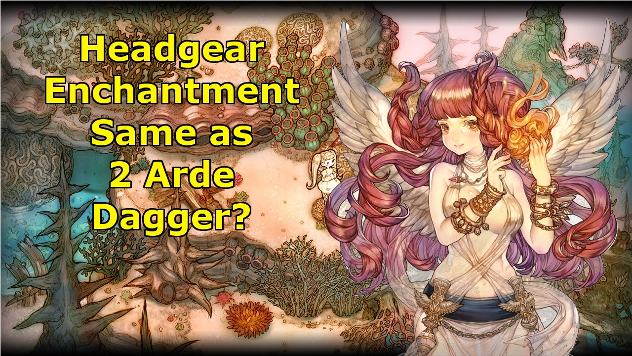 Hair Accessories Tree Of Savior - Tos headgear enchantment is like 30con 145str or even 2 arde dagger at same time youtube