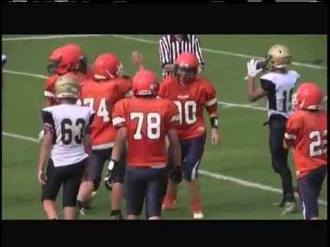 TOMMY McCLOSKEY - 2015 Middle School Football Highlights
