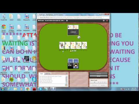 Play Money HUNL vs. Ryan