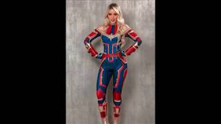 Disfraz de mujer Capitana Marvel