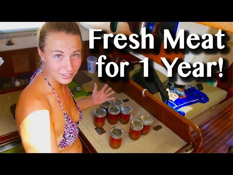 DIY PRESSURE CANNING ON A BOAT -[EXTRA]- Sailing with a Purpose